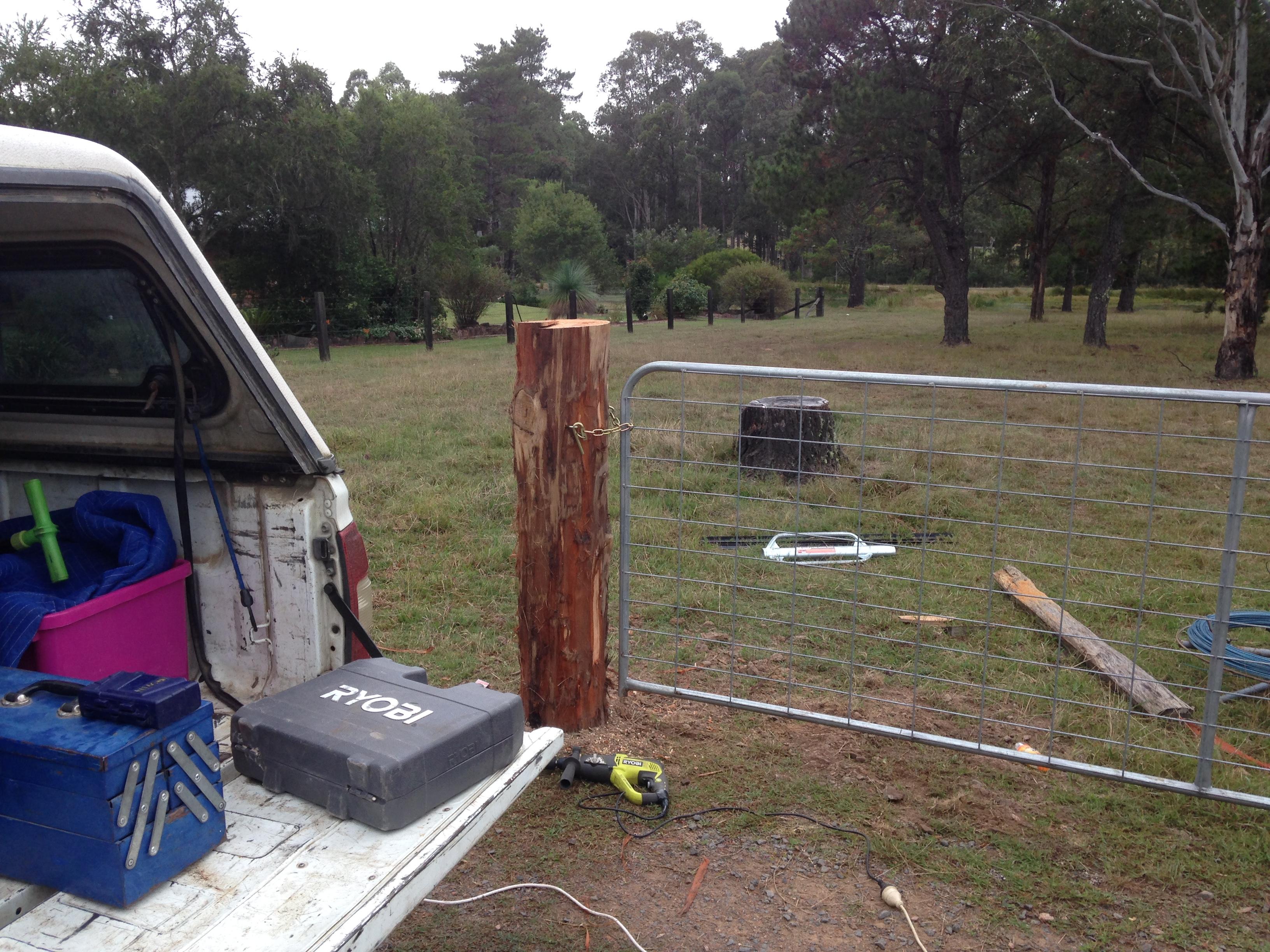 Farm Gates Wolf Rural